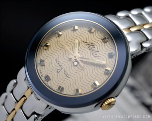 New Old Stock Mido Ocean Star Aquadura 202.7709 M22.2.442.61 quartz vintage watch NOS