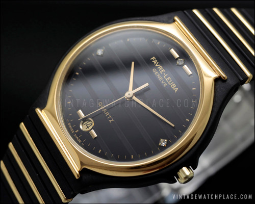 New Old Stock Favre-Leuba NOS vintage watch 3155-55