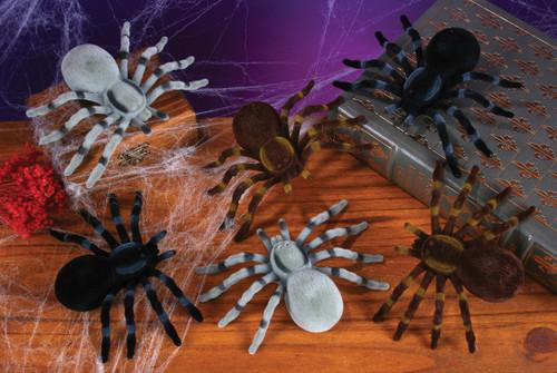5x5 Creepy Spiders 2pk grey