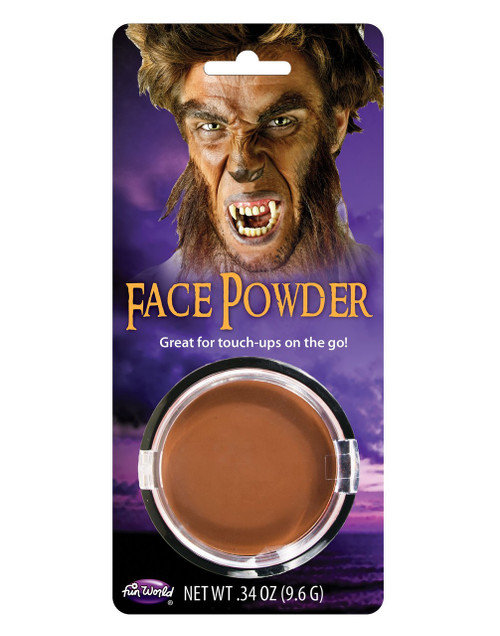 PRESSED POWDER COMPACT BROWN