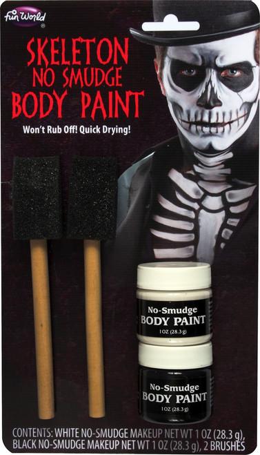 SKELETON Body Paint w Brush