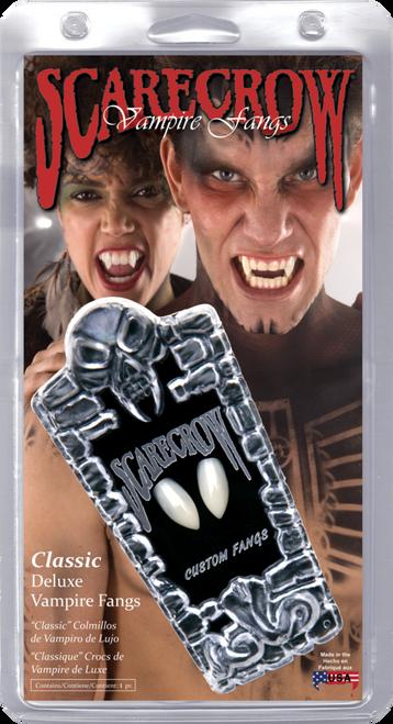 Classic Deluxe Custom Vampire Fangs/Teeth Scarecrow