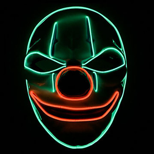 Clown LED Mask