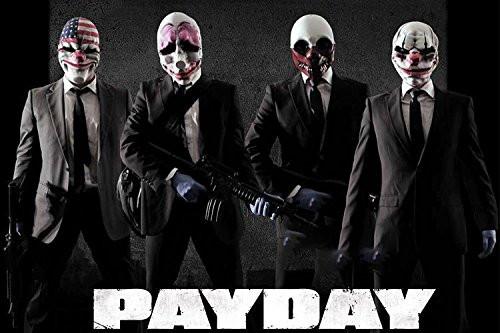 4-Pk PayDay Masks
