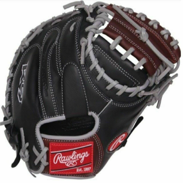 "Rawlings 32.5"" R9 Series Catchers Mitt Baseball Glove Right hand Throw"