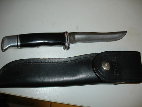 buck knife and original sheath
