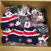 104 Units of Montreal Canadiens cuffed toques, multicolored pom pom - MSRP 2391$ - Brand New (Lot # 555903)