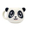 144 Units of Hand Painted Ceramic Panda Mugs - 16cm x 9cm - MSRP 1439$ - Brand New (Lot # CP585507)