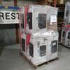 8 Units of Frigidaire Retro 3.2 Cu Ft Dry Erase Fridge Black - MSRP 1832$ - Scratch & Dent