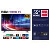 "RCA 55"" 4K Ultra HD (2160P) HDR Roku Smart LED TV - MSRP 550$ - Like New"
