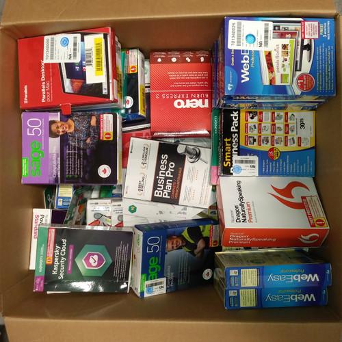 149 Units of Softwares - MSRP 6182$ - Returns (Lot # 555204)
