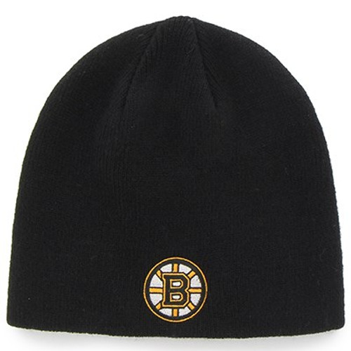 50 Units of Boston Bruins cuffless toques - MSRP 1150$ - Brand New (Lot # 555907)