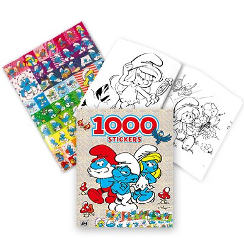 48 Units of Smurf coloring books (1000 stickers included) - MSRP 672$ - Brand New (Lot # CP555925)