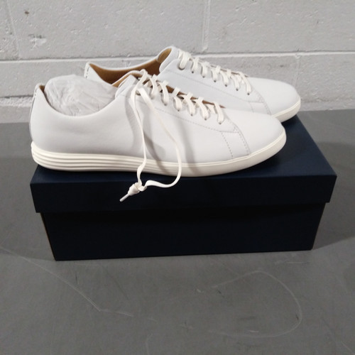 5 Units of Cole Haan Grand Crosscourt II Men's Shoes - White Leather - 13M - MSRP 450$ - Brand New (Lot # CP562821)