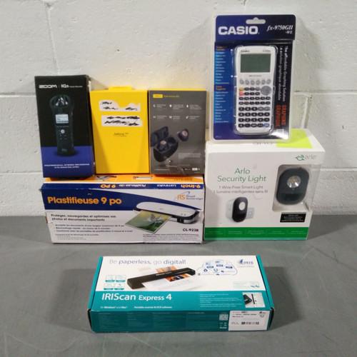 35 Units of Office Electronics - MSRP 3656$ - Returns (Lot # 564389)