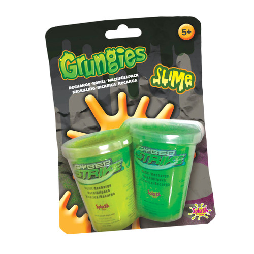 12 Units of Grungies Slime Refill for the Blaster Gun - MSRP 60$ - Brand New (Lot # CP563914)