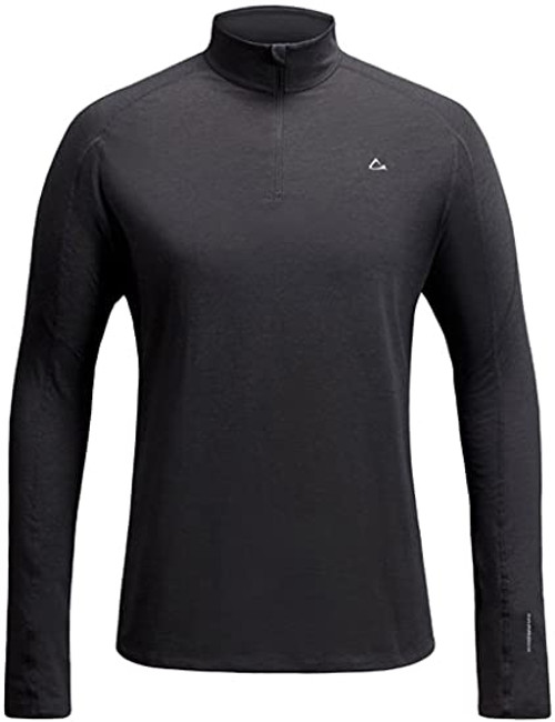 22 Units of Paradox drirelease Merino Blend Men's Top - Grey - Small - MSRP 528$ - Brand New (Lot # CP566209)