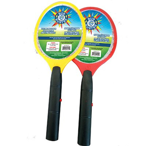 12 Units of Bug Buster Electric Fly Swatter (Assorted Colors) - MSRP 96$ - Brand New (Lot # CP567502)