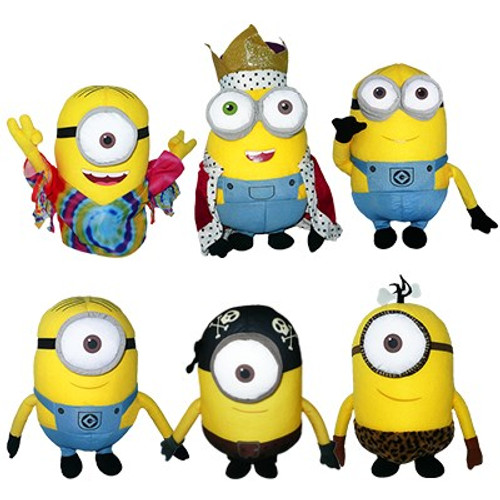 """24 Units of Minion 15"""" plushes (Models may vary) - MSRP 960$ - Brand New (Lot # CP567507)"""
