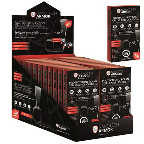 40 Units of Nanotech Armor Liquid Screen Protector Pouch - MSRP 800$ - Brand New (Lot # CP567508)