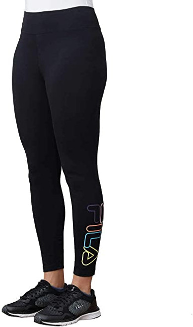 25 Units of Fila High Waist 7/8 Tight - Black - XS - MSRP 575$ - Brand New (Lot # CP567312)