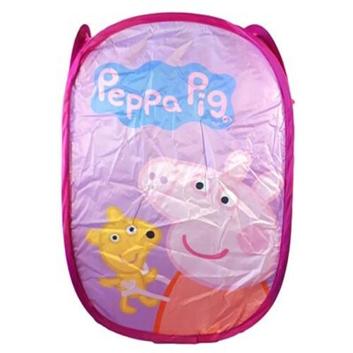 42 Units of Peppa Pig Retractable Laundry Hamper - MSRP 504$ - Brand New (Lot # CP569327)