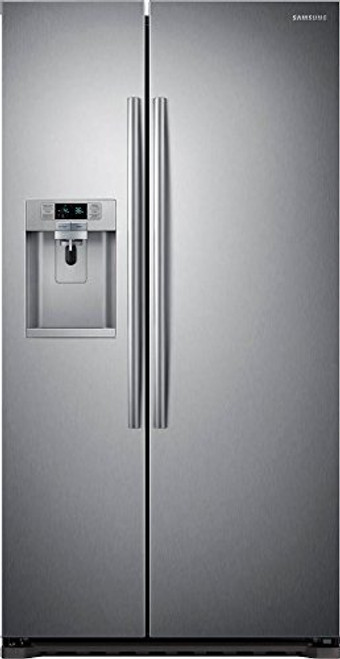 CLEARANCE: 1 unit of Samsung 22.3 cu.ft. Stainless Steel Refrigerator  - MSRP 2866$ - New