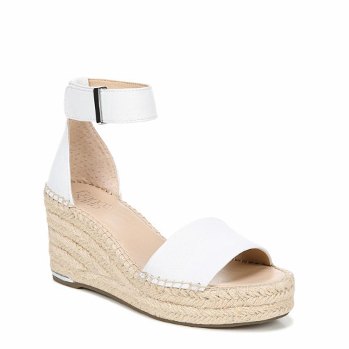 8 Units of Franco Sarto Clemens Sandal - White - 8M - MSRP 560$ - Brand New (Lot # CP575245)