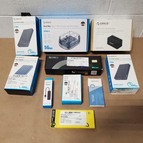 16 Units of Computer Accessories - MSRP 968$ - Returns (Lot # 578714)