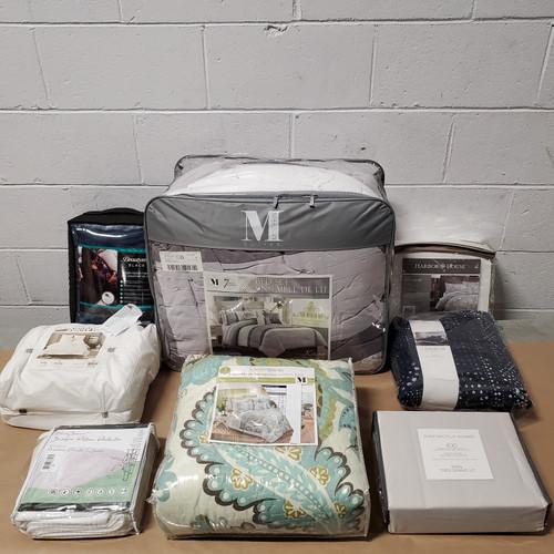 18 Units of Bedding - MSRP 3109$ - Returns (Lot # 580830)