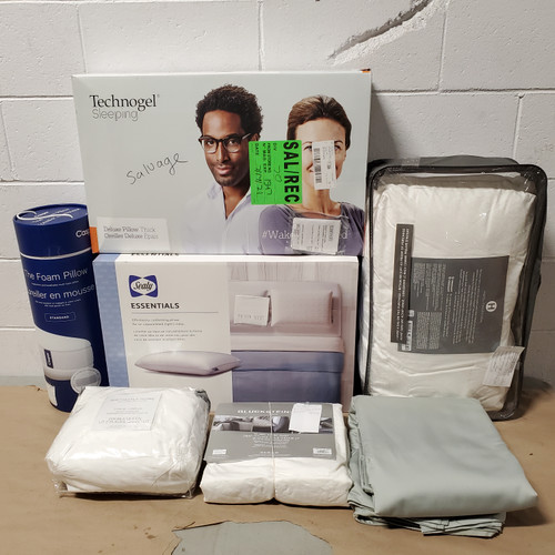 23 Units of Bedding - MSRP 4048$ - Returns (Lot # 582062)