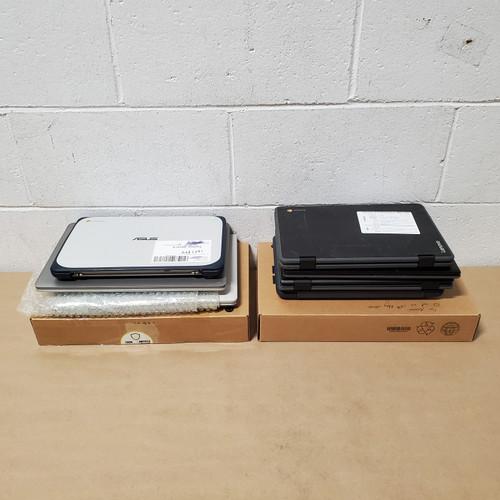 9 Units of Chromebooks - MSRP 3012$ - Returns (Lot # 581970)