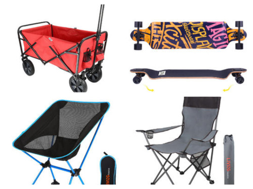 16 Units of Sports & Outdoor - MSRP 767$ - Returns (Lot # 587518)