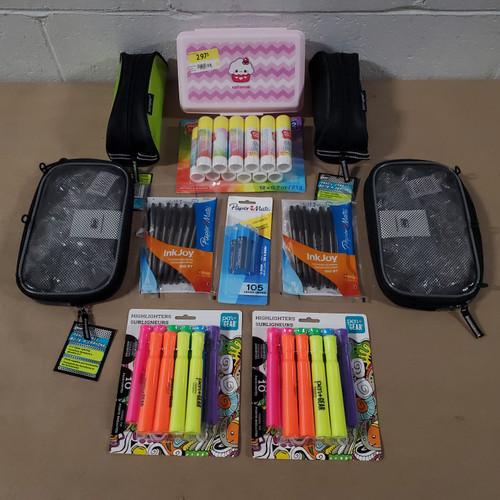 746 Units of Office & School Supplies - MSRP 4845$ - Returns (Lot # 586709)