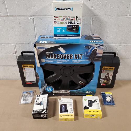 12 Units of Auto Parts & Accessories - MSRP 467$ - Returns (Lot # 586715)
