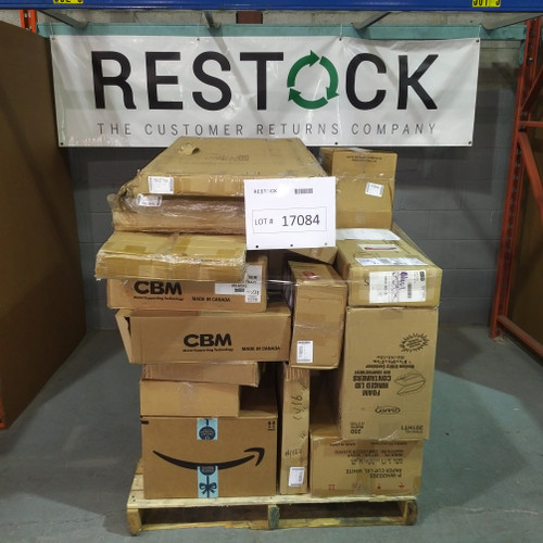 53 Units of Retail Supplies - MSRP 3631$ - Returns
