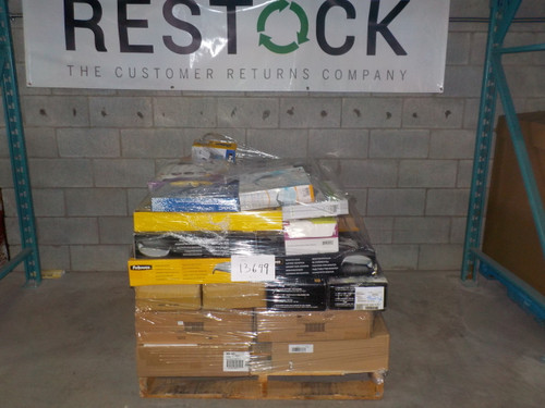 1 Pallet #13649 - 35 units of Desk Accessories from Staples - MSRP 4563$ - Returns