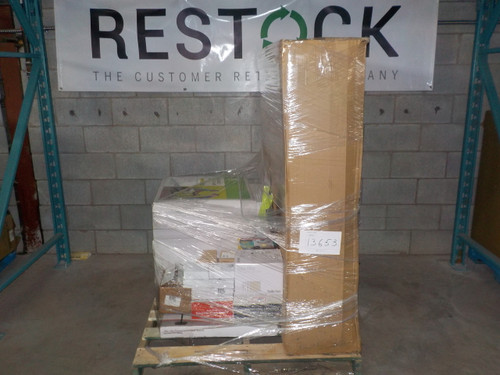 1 Pallet #13653 - 24 units of General Merchandise from Staples - MSRP 2310$  - Returns