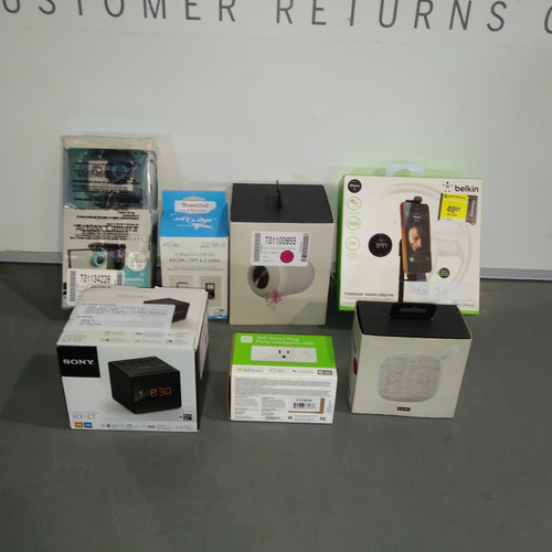19 Units of Small Electronics - MSRP 1376$ - Returns