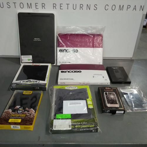 9 Units of Tablets & Smartphones Cases - MSRP 831$ - Refurbished