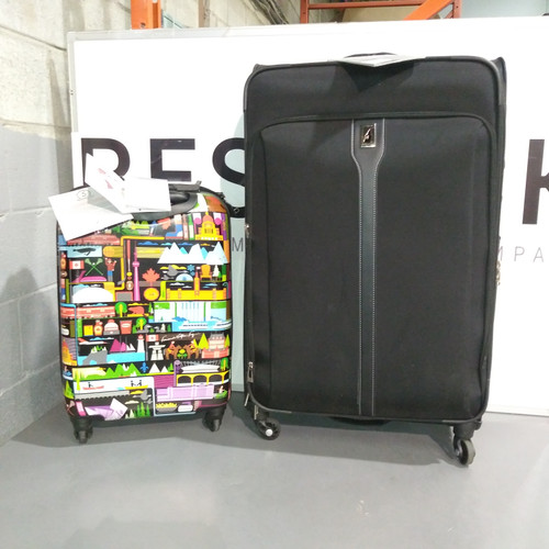 2 Units of Luggages & Bags - MSRP 504 $ - Returns