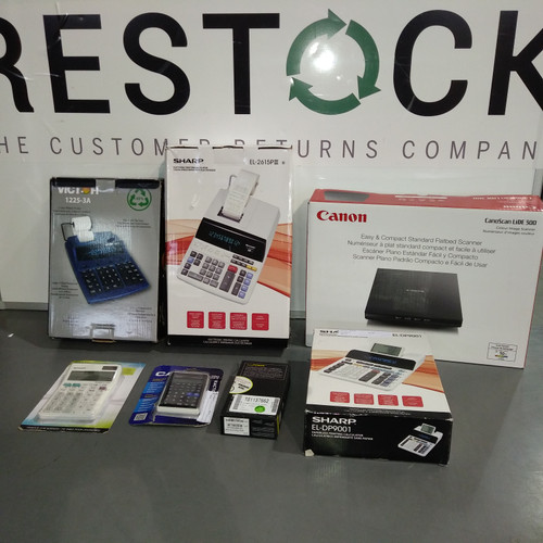 20 Units of Office Electronics - MSRP 1439$ - Returns