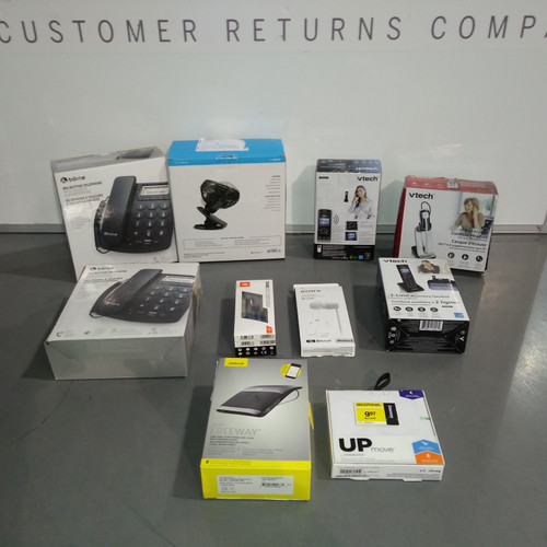 52 Units of Small Electronics - MSRP 2850$ - Returns