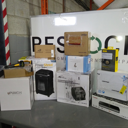 12 Units of High Value Office Electronics - MSRP 4185$ - Returns