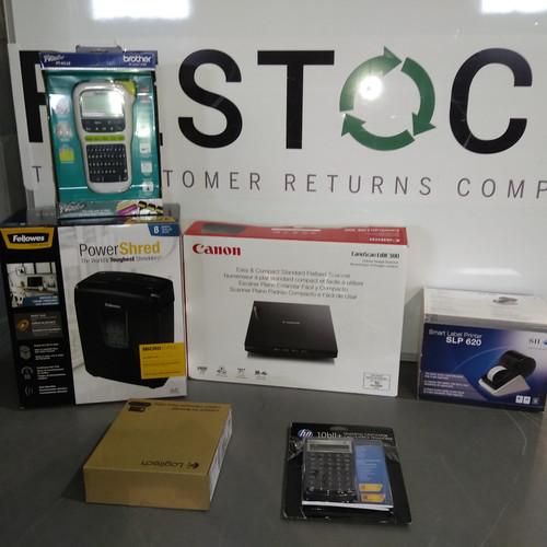27 Units of Office Electronics - MSRP 2003$ - Returns