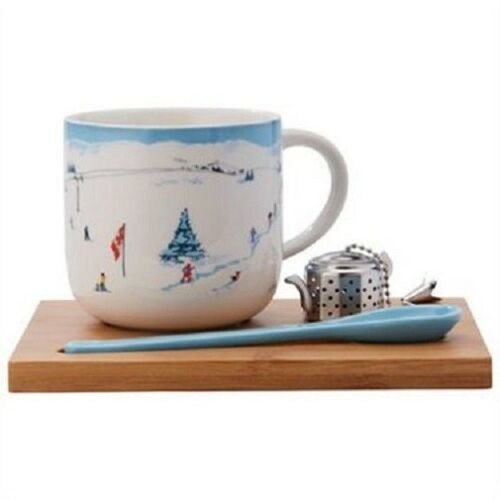 198 Units of Simple Tea Sets - Ski Scene - MSRP 4851$ - Brand New