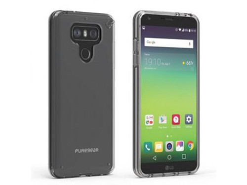 10 Units of PureGear LG G6 Slim Shell Case - Clear - MSRP 250$ - Brand New