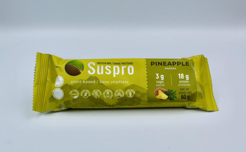 144 Units of High Protein Bar - Pineapple - 60g per bar - MSRP 575$ - Brand New