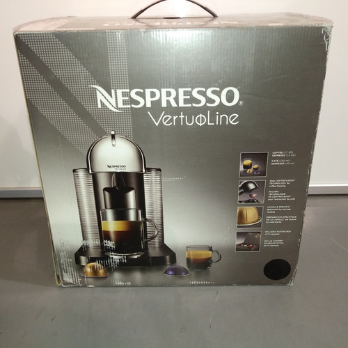 1 Unit of Nespresso Vertuo Single Serving Coffee Machine (Black) - K-Cup Not Included - MSRP 250$ - Like New