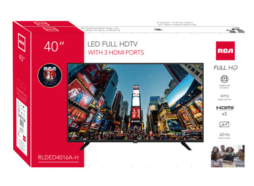 """RCA 40"""" Class FHD (1080P) LED TV - MSRP 300$ - Like New"""